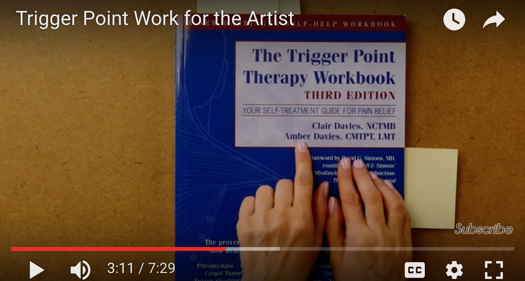 trigger point therapy for the artist